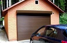 Рольставни в гараж